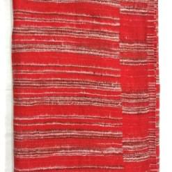 hand-loomed-yak-wool-blanket-red-color-1