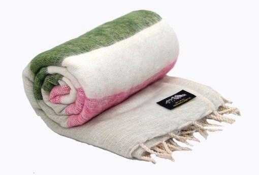 Handloom Yak Wool Shawl Nepal