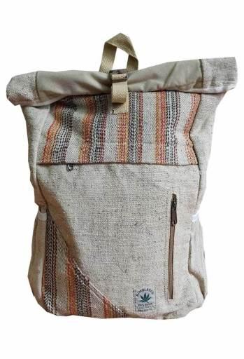 hemp rucksack bag