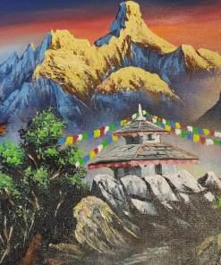Nepal Himalayas Painting