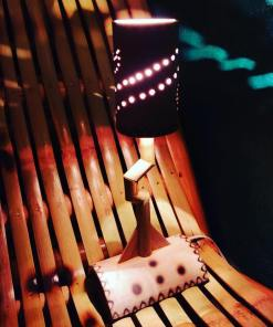 handmade decorative bamboo table lamp