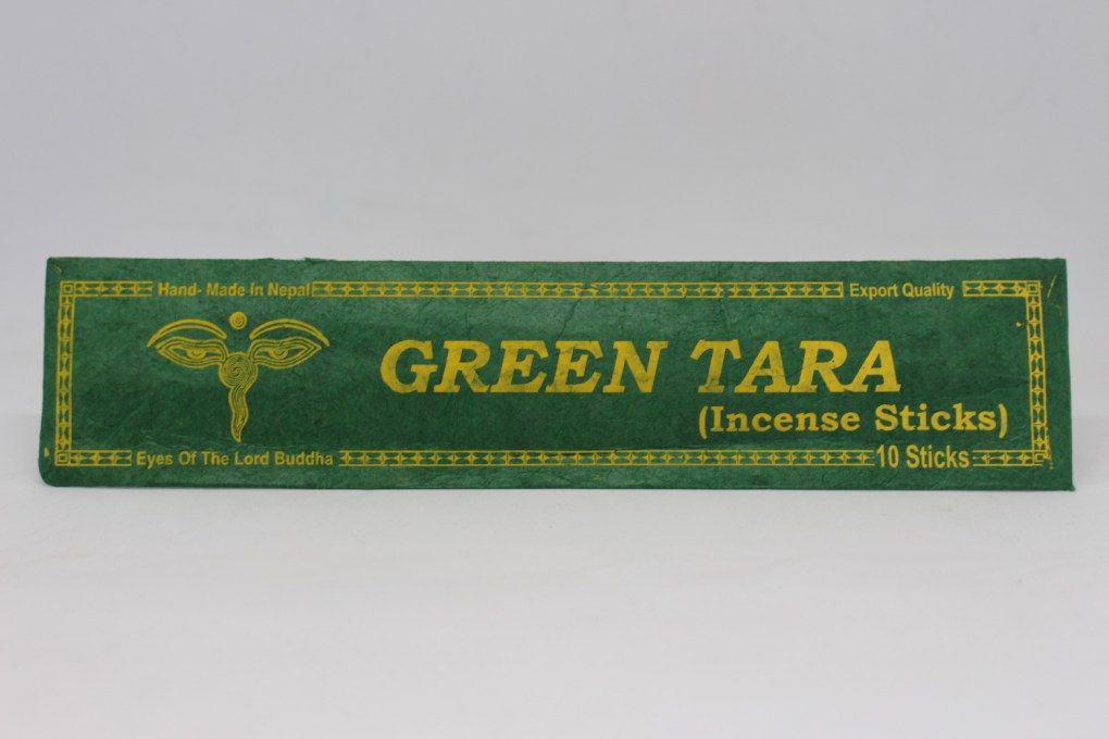 Green Tara Incense Sticks 2