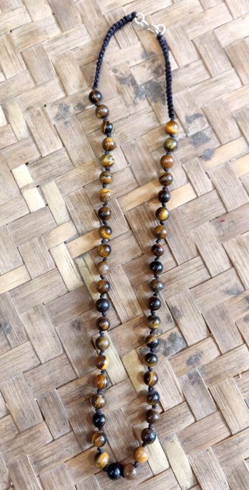 Tiger Eye Stone Necklace