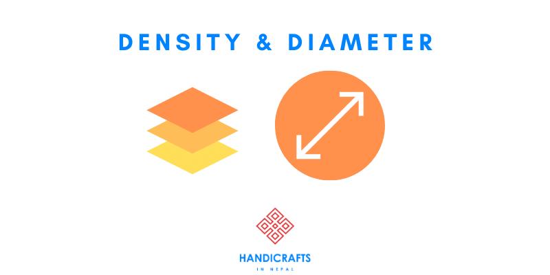 density diameter singing bowl