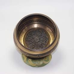 Hand Carved Tibetan Mantra Singing Bowl
