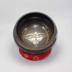 Buddha Eye Etched Singing Bowl