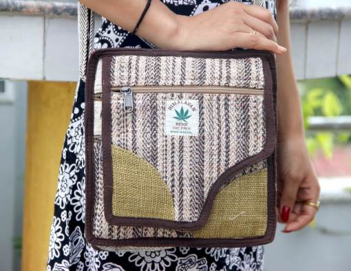 Hemp Passport Bag