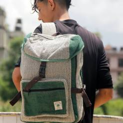 Safari Hemp Backpack