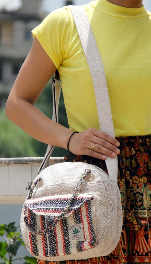 Hemp Side Bag