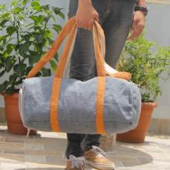 Hemp Travel Duffel Bag