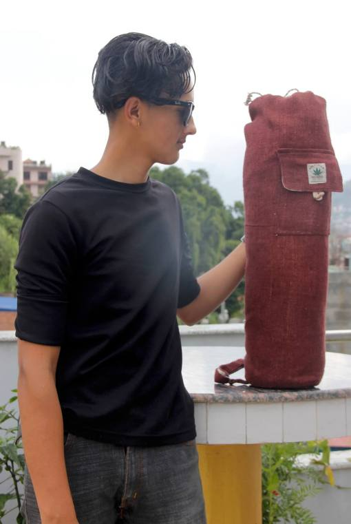 Hemp Yoga Mat Bag