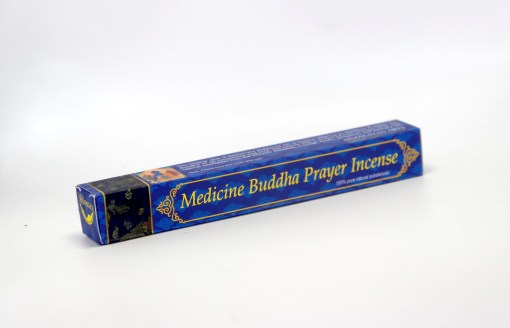 medicine buddha prayer incense
