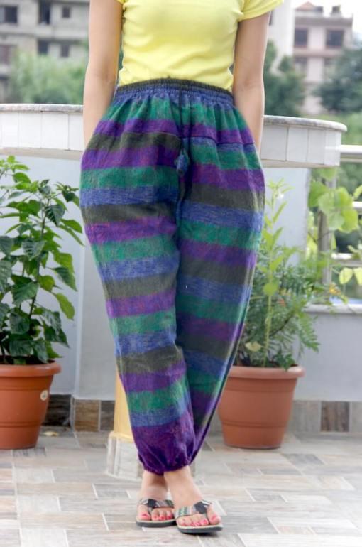 Hippie Harem Woolen Pant