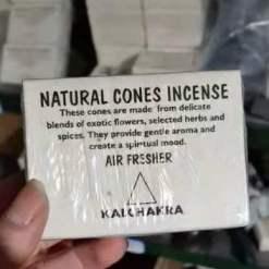 natural cones incense kalchakra