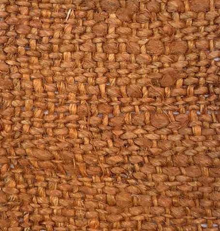 hemp orange color fabric