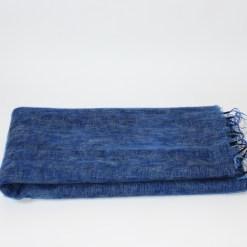 yak wool shawl blue color