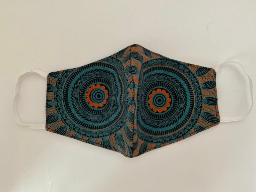 Mandala Cotton Face Mask 1