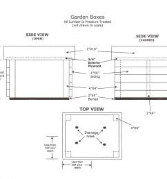 plans for a raised garden box [ 3229 x 2549 Pixel ]
