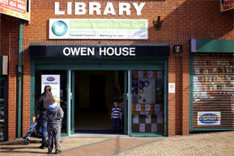 Tipton Library - Owen House