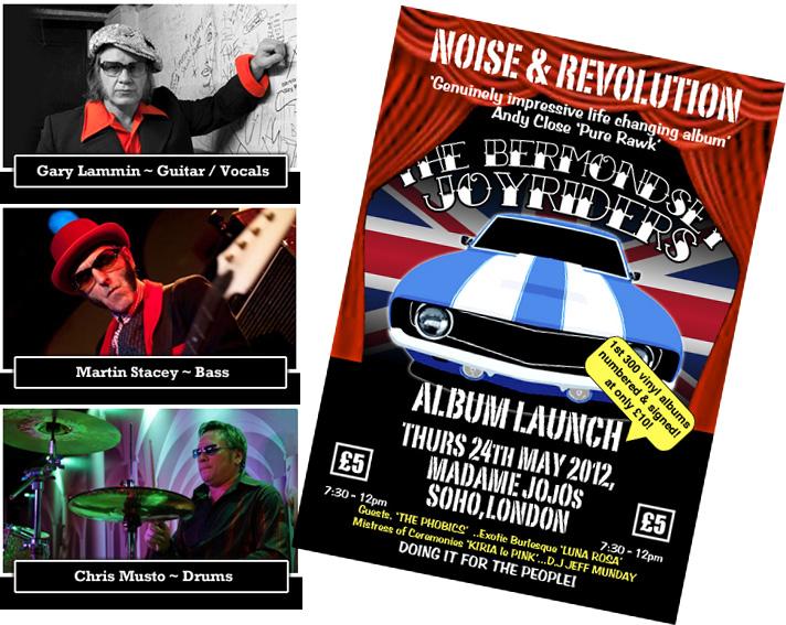 The Bermondsey Joyriders - Noise & Revolution
