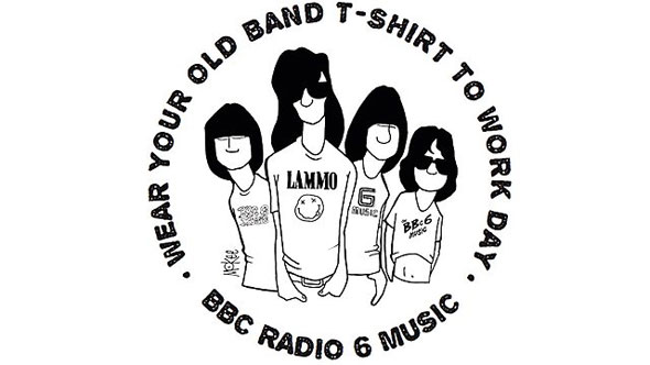 Wear Your Old Band Tshirt To Work Day