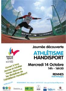 Affiche de la Journée Découverte Athlétisme