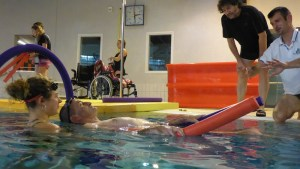 natation sur le dos