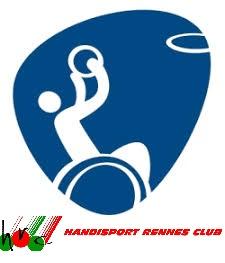 LOgo Basket Fauteuil associé au logo du HRC