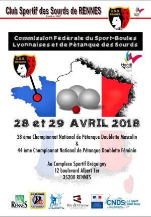 Championnat national Petanque