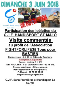 Rando Joelette à St Malo 3 Juin