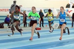 lisa clarisse du handisport rennes club en pleine course