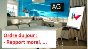 Une salle prête à vous recevoir pour l'AG