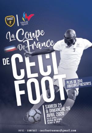 Affiche Coupede France Céciffot le Rheu 25 et 26 Avril 2020