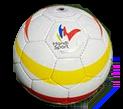 Ballon de Céciffot avec logo de la FFH
