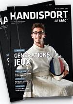 Couverture du Handisport Le Mag no182 Avril 2021