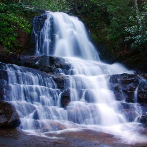 Waterfall in the Great Smoky Mountains