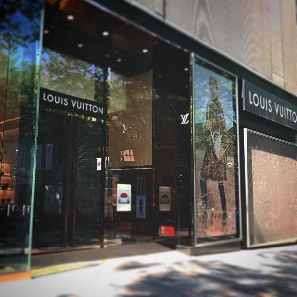 東京逛街必去!表參道名店全攻略 Louis Vuitton