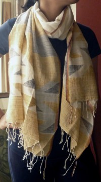 Gallery  Handloom Scarves and Stoles | Bengalhandlooms.com