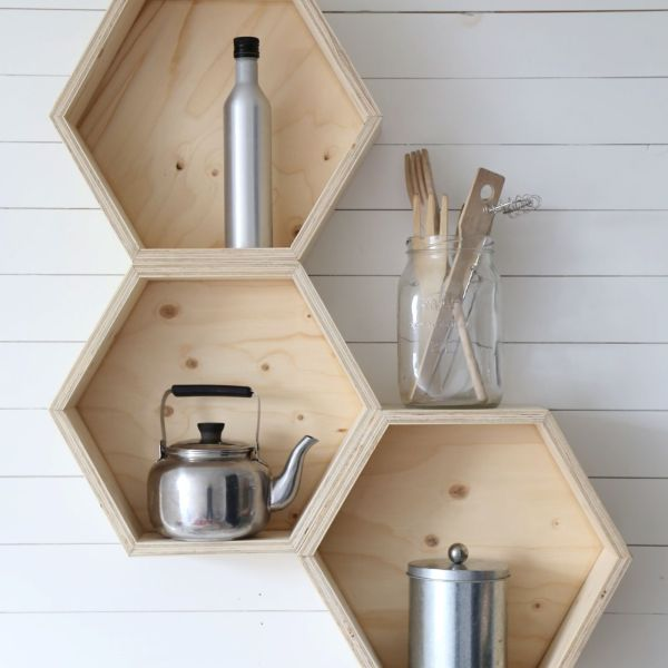 4 fantastically creative wooden shelves and racks (2)