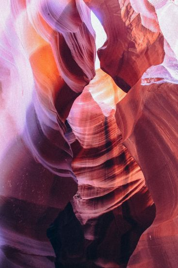 Galloping through Antelope Canyon in Arizona, USA (2)
