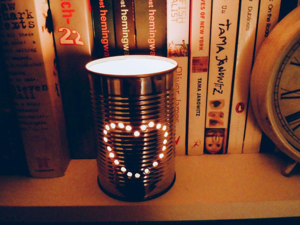 Weekend DIY Lighting Tips: Tin Can Lanterns (2)