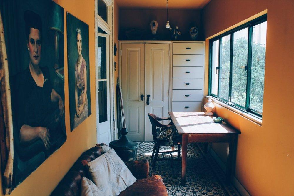 The Artist's Apartment... Lisbon, Portugal (19)