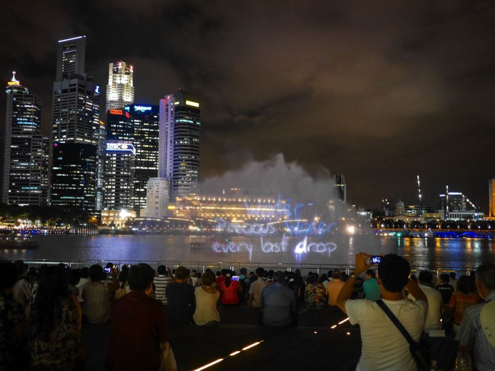 "Fire, Water and Light - The ""Wonder Full"" Spectacular on the Marina Bay, Singapore (2)"