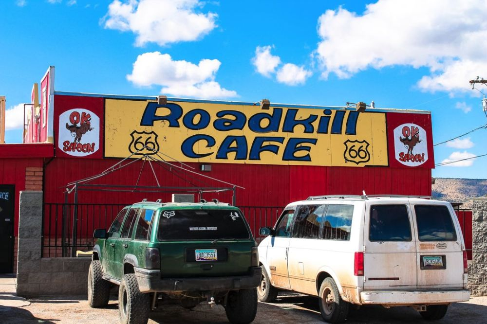 Road Trip USA! The legendary Route 66 and Road Kill Cafe! (4)