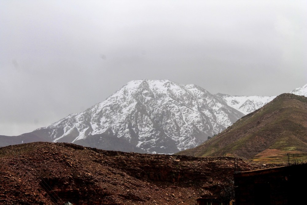 Snow in the Desert? Take a trip up to the Atlas Mountains, Morocco... (10)
