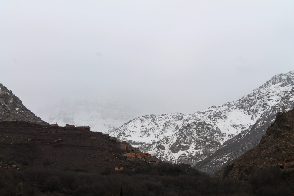 Snow in the Desert? Take a trip up to the Atlas Mountains, Morocco... (19)