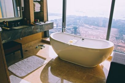 Marina Bay Sands Hotel Infinity Pool and Hotel Room Singapore (10)