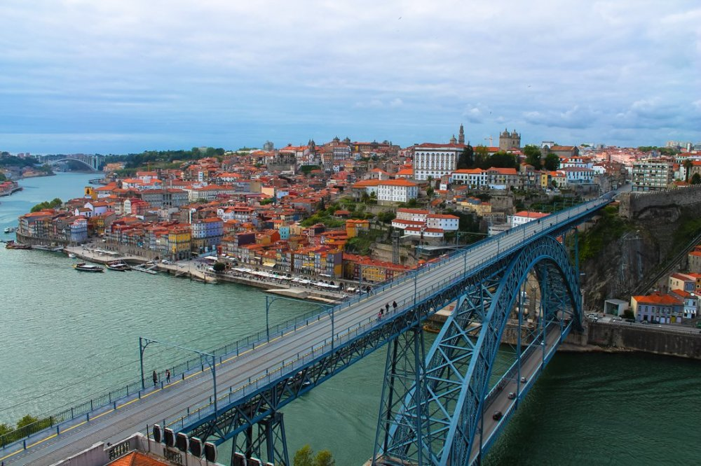 Wine with a view (oh, and some lunch too!)... in Porto, Portugal (5)