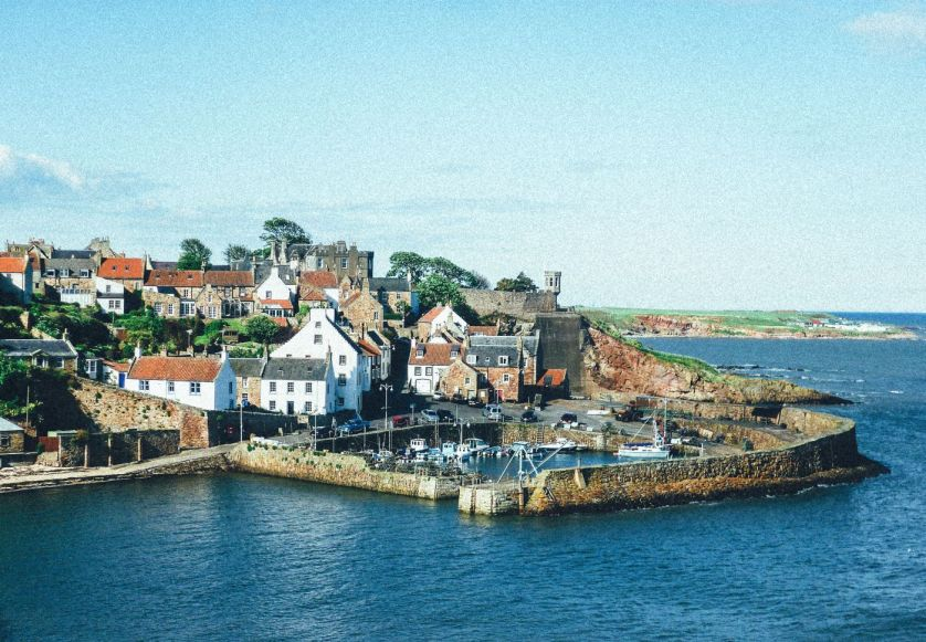 Crail Fife Scotland s - THE MOST BEAUTIFUL ENGLISH VILLAGES PICTURES STUNNING ENGLISH COUNTRY TOWNS IMAGES