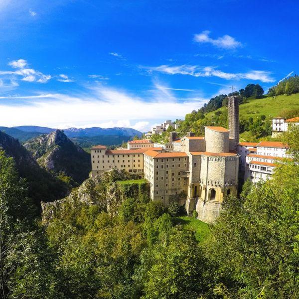 Sanctuary of Arantzazu Gipuzkoa Basque Country Spain